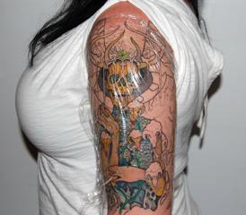 Aftercare salem ink custom tattoo studio for Tattoo care aquaphor