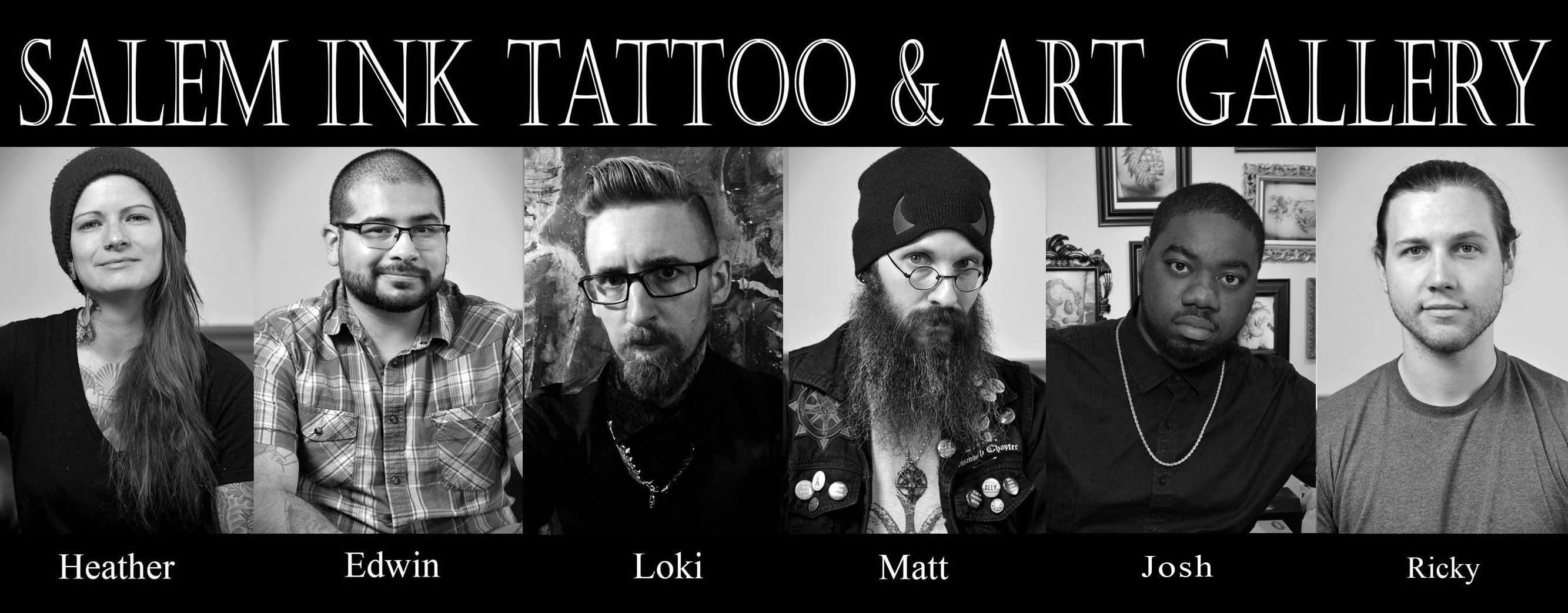 Salem ink custom tattoo studio in salem ma for Tattoo shops in salem ma